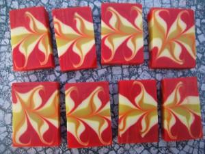 Swanee's Winning Mantra Swirl soap