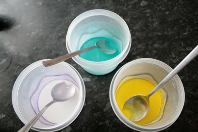 Colourants Prepped and Ready
