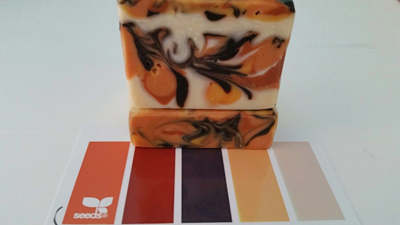 Natural Colorant soap (with a mystery scent blend!) by Winberg Soapworks