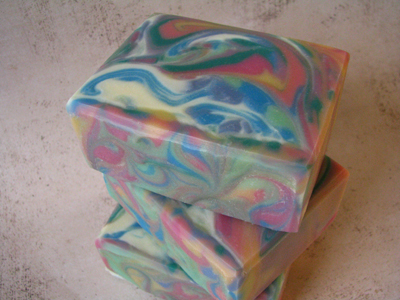 Black Cherry soap by Great Cakes Soapworks