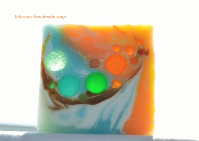 Seaglass soap by Maya