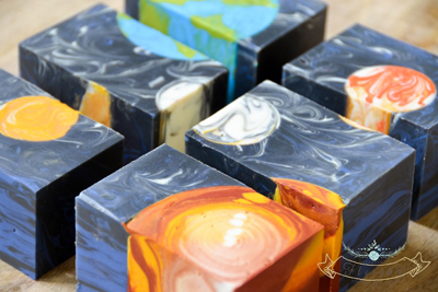 "Negative ""Space"" Embed soap by Handmade in Florida"
