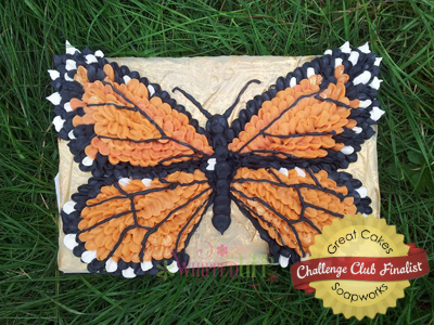 Monarch Butterfly Soap by Whipped Upp