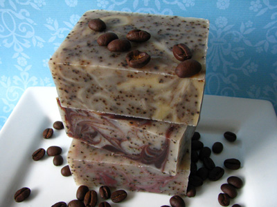 Moroccan Spice Coffee Soaps by Great Cakes Soapworks
