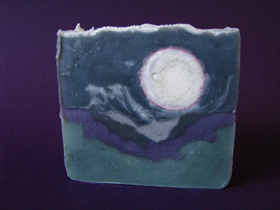 Landscape soap by Great Cakes Soapworks