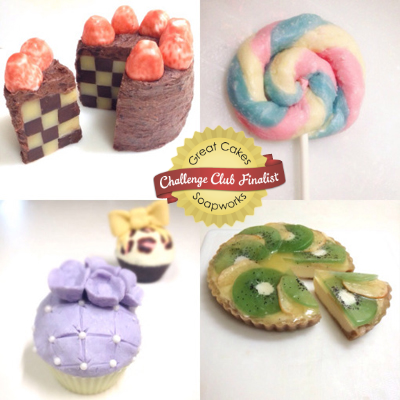 Mini Dessert Soaps by Merry Day Soaps