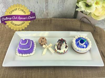 Mini Dessert Soaps by Donna