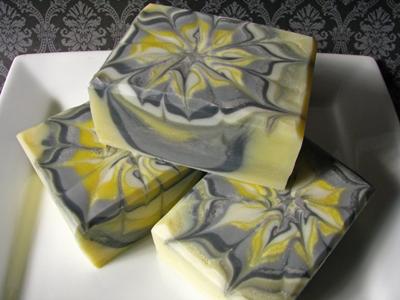 Ebru soap by Great Cakes Soapworks