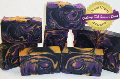 Owl Feathers soap by Julie