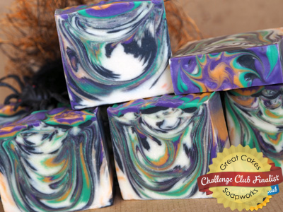 Witch's Brew soap by Aida Soap