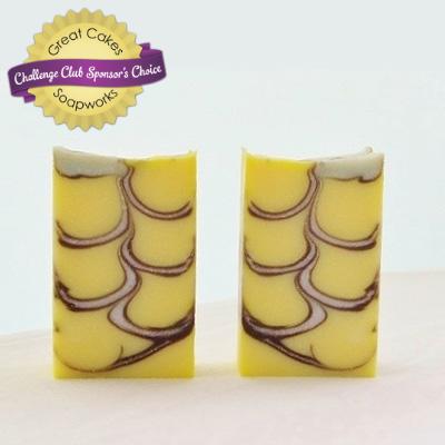 Lemon & Ice soap by Maya Matsuoka