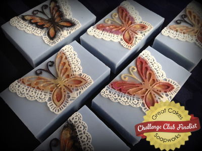 Garden-ia Butterflies by Sunflower State Soap