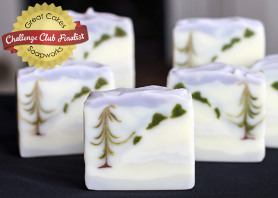 Winter Landscape Soap by Kapia Mera Soap Co