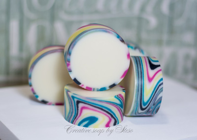 Rimmed Soap by Creative Soap by Steso