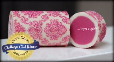 Damask Rimmed Soap by Anastasia