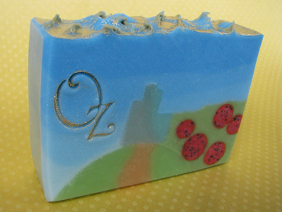 Wizard of Oz soap by Great Cakes Soapworks