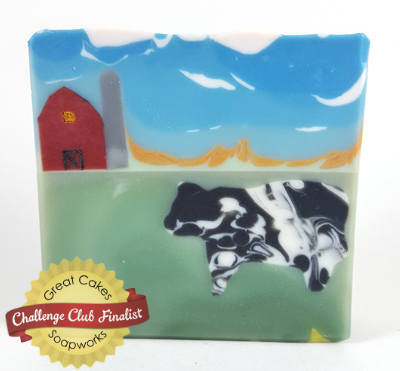 Wisconsin Cow Soap by Baabbly Soap