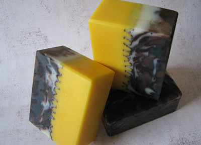 Making of Sunflower Soap