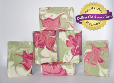 A Touch of Raspberry Soap by Bearprint Soaps