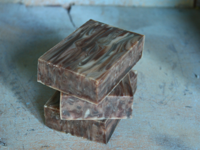 Wood grain soap by Great Cakes Soapworks