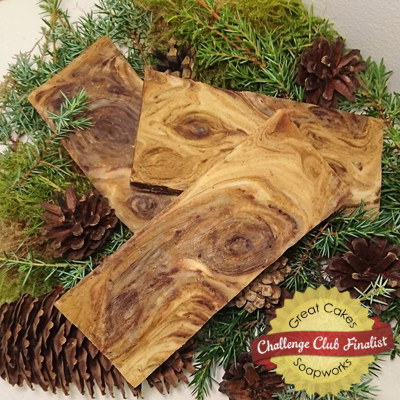 Forest Walk soap by Sarah Riedel