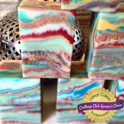 Banos Arabes Cosmic Wave soap by siennalilysoaps