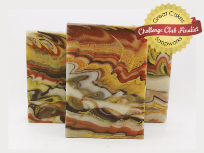 Guardian Angel  Cosmic Wave soap by Lolly's Soaps & Such