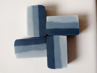 How to Use Indigo to Color Cold Process Soap